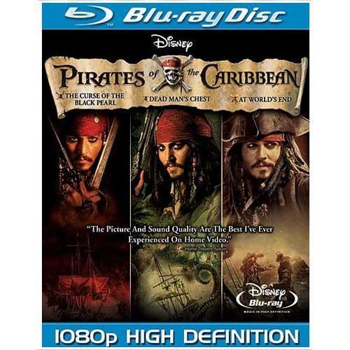 Pirates of the Caribbean 1-3 Trilogy (Blu-ray) - £17.85 @ Zavvi