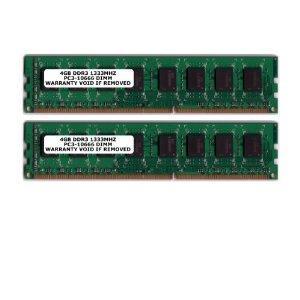 Komputerbay 8GB (2 X 4GB) DDR3 DIMM (240 pin) 1333Mhz 8 GB KIT - £53 Delivered @ Amazon