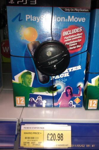 Playstation Move Starter Pack - £25.18 inc Vat @ Makro