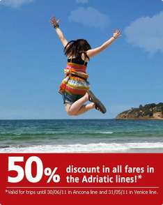 Half Price Ferries from Italy to Greece Until end of June @ Minoan Lines