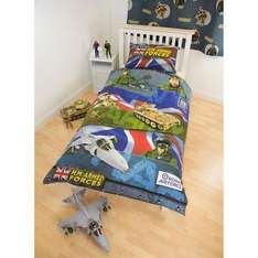 Hm Forces Single Duvet Cover £3.99 @ Home Bargains In Store