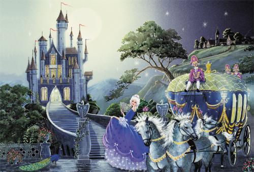 Classic Fairy Tales Collection 500 Piece Puzzle - Cinderella - £1.80 @ Amazon