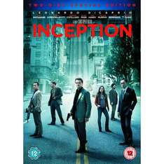 Inception (DVD) (2 Disc) - £4.99 @ Amazon (Double Nectar Points) & Play