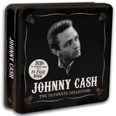 Johnny Cash: The Ultimate Collection (3 CD Box Set Tin) - £3.99 Delivered @ Play