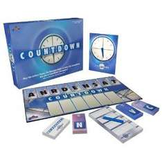 Countdown the Board Game - rrp £18.99 now £3.42 Delivered @ Amazon