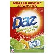 Half Price Weekend Offers Sat 7th - Sun 8th May @ Lidl Daz Mandarin & Lime 42 Wash £3.74 & 500g Lemons 39p