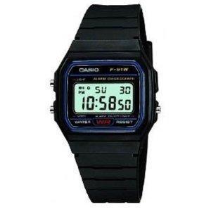 Casio F-91W Men's Resin Digital Watch - £5.90 @ Amazon