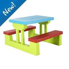 Kids Garden Table and Bench - £20 @ Asda Direct (Online & Instore)