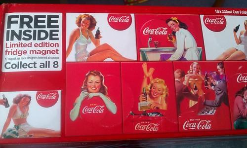 Coca-Cola 10x 330 Cans + Fridge Magnet include £3 @ Co-Op