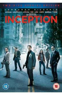 Inception (DVD) (2 Disc) - £4.99 Delivered @ Play