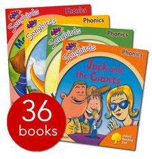 Songbirds Phonics Collection - 36 Books - £16.95 Delivered @ The Book People