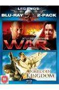 Legends: War / The Forbidden Kingdom Double Pack (Blu-ray) (2 Disc) - £9.49 @ Play