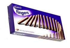 different types of cabury fingers buy one get one free @ Tesco