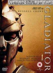 Gladiator: Extended Special Edition (DVD) (3 Disc) - £6.00 @ Tesco Entertainment