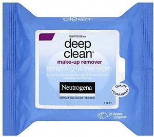 Neutrogena  Deep Clean make-up remover 25 wipes 51p @ Morrisons