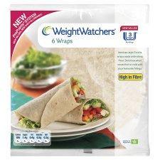 Weight Watchers Wraps 6Pk £0.50 - Weight Watchers Wholemeal Pitta 6 Pack £0.47 -  Weight Watchers Bagels 5Pk £0.67 @ Tesco