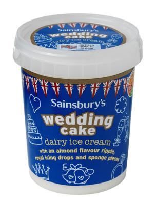 Wedding Cake Ice Cream 500ml was £3.39 now £1.00 instore @Sainsbury's