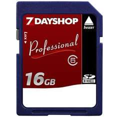 16 GB SD Card (SDHC), Class 6 - £12.99 Delivered @ 7dayshop