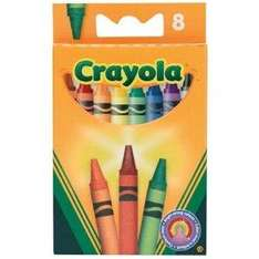 Crayola Coloured Crayons ( 8 Pack ) 75p @ Amazon (4-6 weeks delivery)