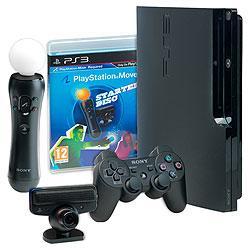 Sony PS3 Console: 320GB & PS3 Move Bundle - £239.99 inc Vat @ Viking Direct