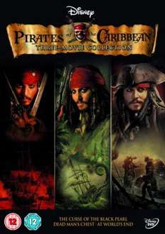 Pirates of the Caribbean 1-3 Trilogy (DVD) - £7.99 + £1.99 Postage @ Sendit