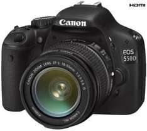 Canon EOS 550D Digital SLR Camera + EF-S 18-55mm Lens - £539.60 @ Dixons (+ £30 Canon Cashback + 3% TCB)