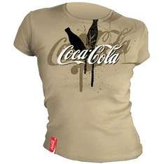 """Women's T-Shirt """"Bottle"""" - Coca Cola Collection - £2.99 @ Play"""