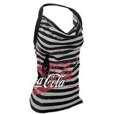Printed Stripe Women's Vest - Coca Cola Collection - £5 @ Play