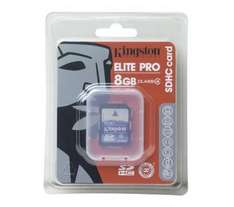 8GB Kingston SDHC Memory Card - Only £6.99 @ Dixons