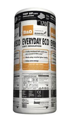 Every Day Eco Loft Insulation 170mm £3.00 @ B&Q