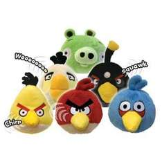 """Angry Birds 4"""" Plush Toy W/ Sounds - Only £3.99 Delivered @ Play.com"""