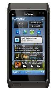 Nokia N8, 500 minutes, 5000 texts, 500MB internet only £20/month with a 12 month contract @ Tesco Mobile