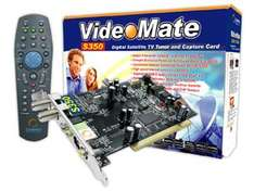 Compro VideoMate S350 DVB-S PCI Satellite Card - £20.49 + £3.99 Delivery @ Dabs