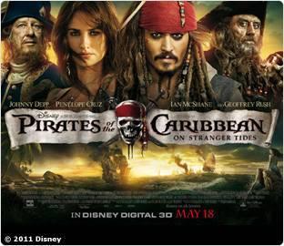 Free Screening Pirates of the Caribbean: On Stranger Tides @ Sky Rewards