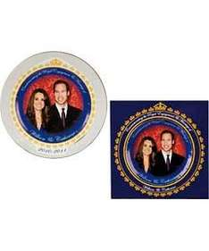 Royal Couple 8 inch Plate Giftbox reduced to 99p at argos - NOW 50p!!!
