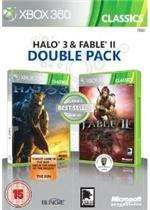 Halo 3 and Fable II - Double Pack (Xbox 360) Free Del + Quidco/Topcashback - £10.99 @ Base.com