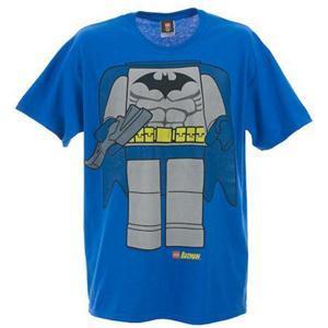 Lego Batman Men's Batman Body (Blue - T-Shirt) Medium or Large Only - now £5.00 delivered @ Play.com