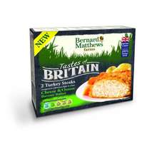 Bernard Matthews Turkey Steaks 2 packs for £1 @ Heron Foods