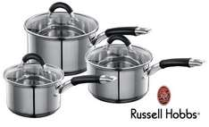 Russell Hobbs 3 Piece Pan Set £29.99 del @ Littlewoods Clearance (Ebay)