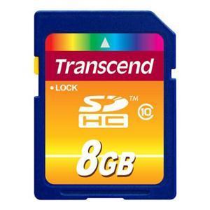 Transcend 8GB SDHC Card Class 10  - £9.29 @ Play.com