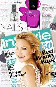Free Nail inc Nail Varnish with June Issue of Instyle Magazine (£3.70)