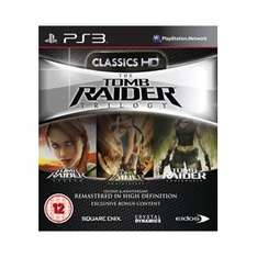 Tomb Raider Trilogy (PS3) - £15.29 Delivered (with code) @ My Memory