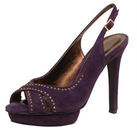 Ravel Womens Darla Sling Back Shoes Purple - RRP £84.99 Now £11.99 + £3.99 Postage @ MandM Direct