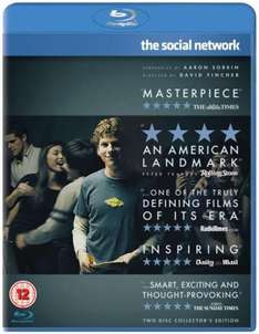 Social Network (Blu-ray) - £9.95 @ The Hut (Today Only)