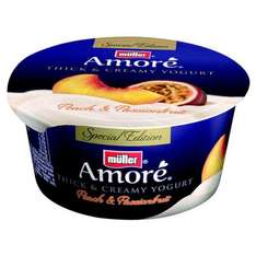 Muller Amore Special Edition. Peach & Passion Fruit Yogurt Was .61p Now Only each .12p instore @ Asda