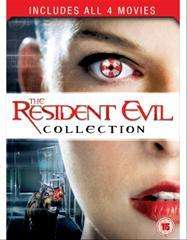 Resident Evil 1-4 Box Set (DVD) - £5 @ Tesco (Instore)