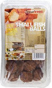 Great Food Small Fish Balls 300g  Half price @ Morrisons £1.99