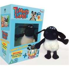 Timmy Time: Timmy The Train - Limited Edition (DVD) With Plush - Just £4.99 delivered @ Play.com
