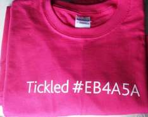 Free Pink T-Shirt - Choice of Sizes