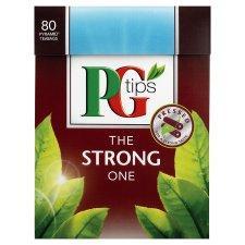 Pg Tips Strong 80S 232G At Tesco £1.34